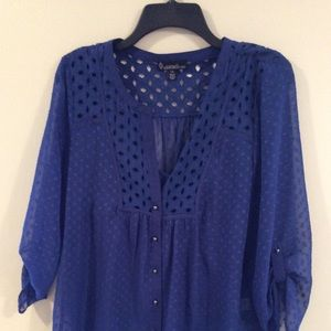 Women's Blouse Signature Studio Size Large